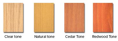 Defy Wood Oil for Decks Colors