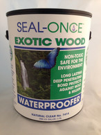Seal-Once Exotic Wood Sealer