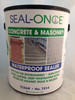 Seal-Once Concrete & Masonry Waterproof Sealer