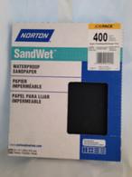 Norton SandWet 400 Grit Sandpaper