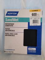 Norton SandWet 600 Sandpaper