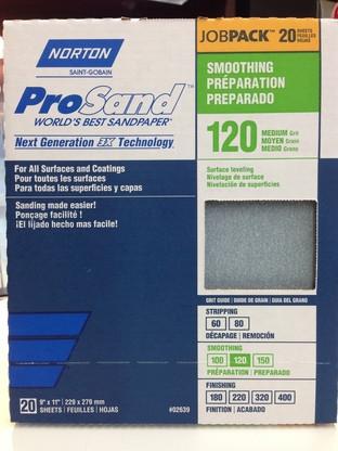 Norton ProSand Sandpaper