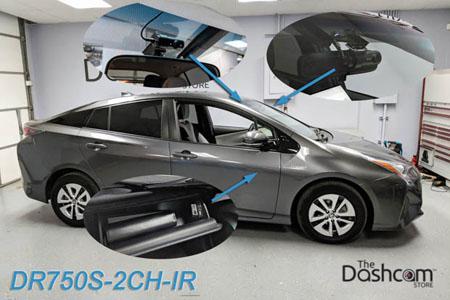 BlackVue DR750S-2CH-Truck Dual Lens 1080p Dashcam | Ford F450 Super Duty