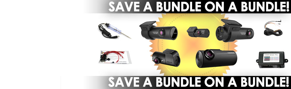 Save a bundle on a dashcam bundle