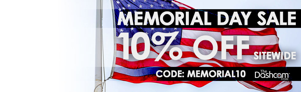 Memorial Day Dashcam Sale