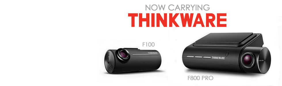 Thinkware F800 Pro and F100 Now For Sale