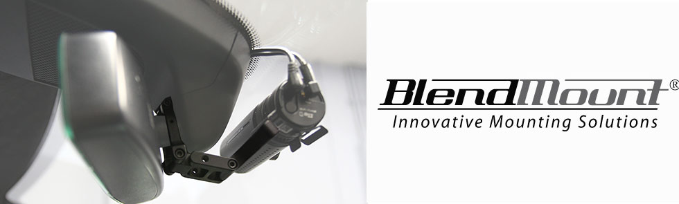 BlendMount: specialized accessory mounting solutions for more than 45 vehicle makes including Audi, BMW, Porsche, Lexus, and Cadillac