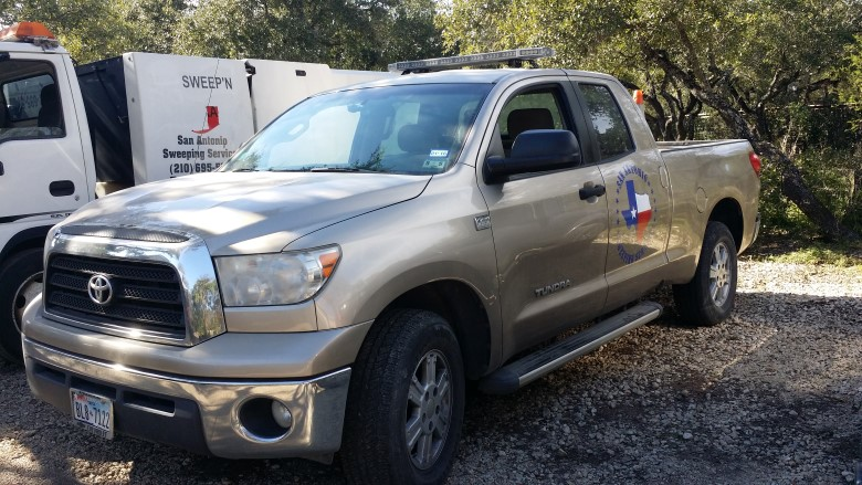 image: Complete Installation | Fleet Dashcam Case Study: San Antonio Sweeping Service | The Dashcam Store Blog