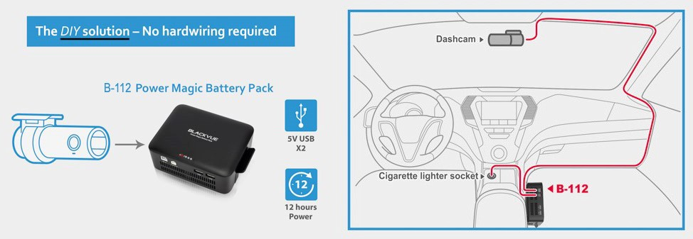 Parking Mode, Surveillance, and Power Magic Pro Frequently Asked Questions | Which is better: Power Magic Pro or B-112 Battery Pack? | The Dashcam Store Blog