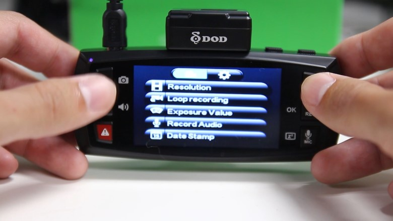 Unboxing the new DOD Dashcam LS475W 60fps superior low-light recording dashcam