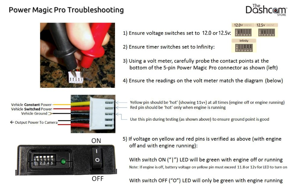 Parking Mode, Surveillance, and Power Magic Pro Frequently Asked Questions | Power Magic Pro Troubleshooting Guide | The Dashcam Store Blog