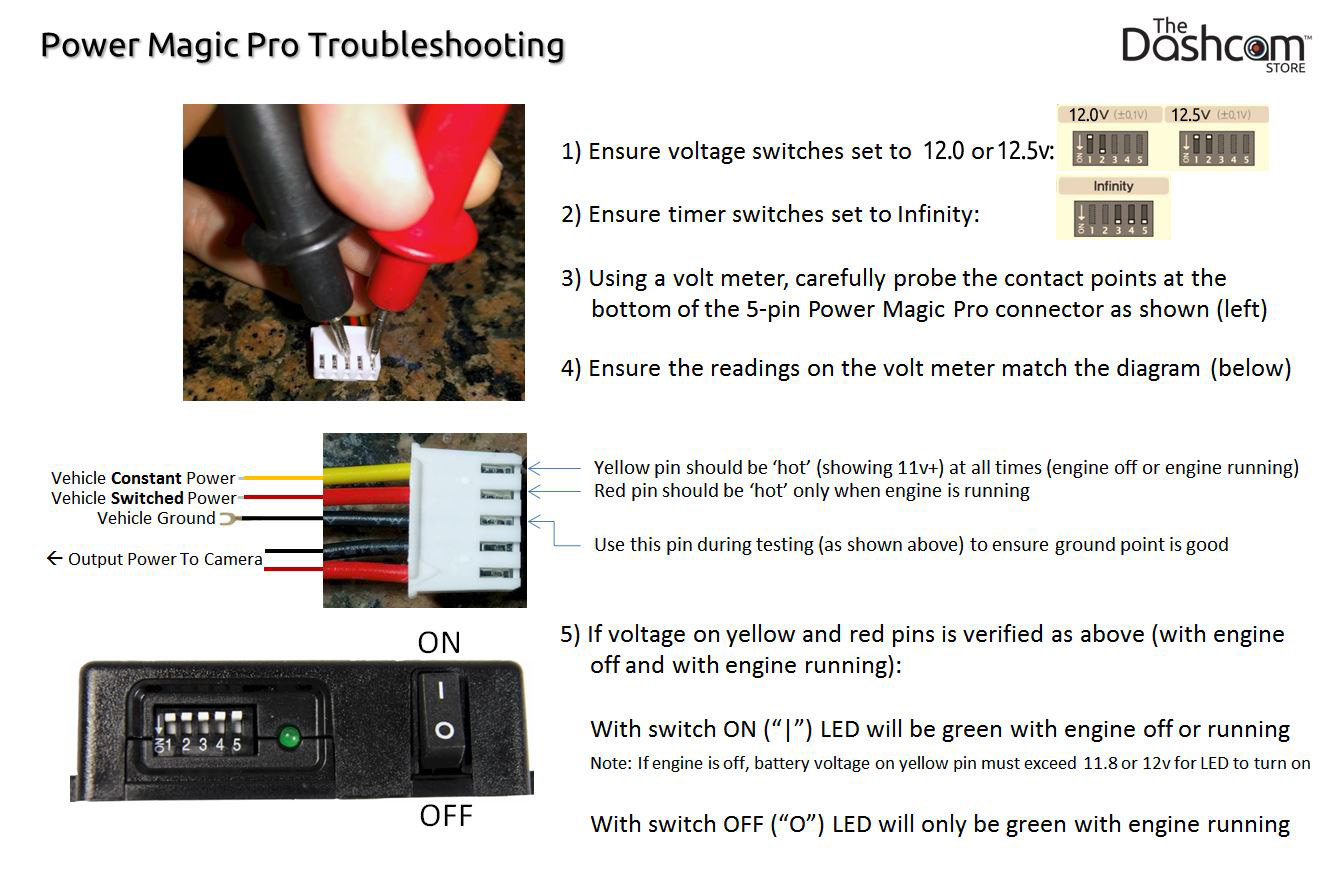 Parking Mode Power Magic Pro Faqs The Dashcam Store Eg Under Dash Fuse Box Surveillance And Frequently Asked Questions