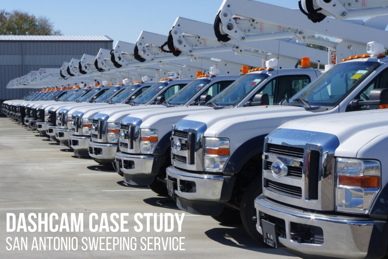 image: Fleet Dashcam Case Study: San Antonio Sweeping Service | The Dashcam Store Blog