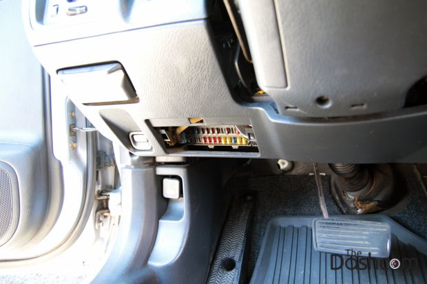 Dashcam installation how to fuse box