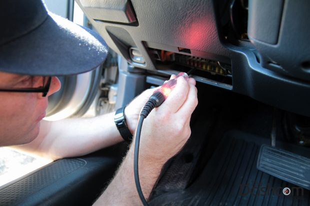 Dashcam installation how to fuse circuit tester