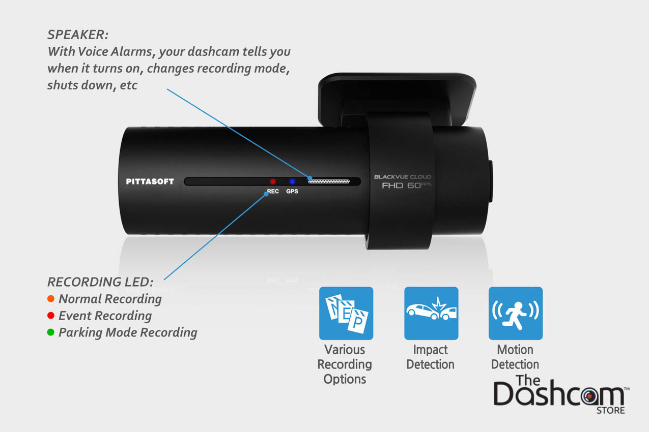 Motoforlyfe's unboxing, review, features, and specs of the new BlackVue DR750S-2CH dashcam | LED Light Indicators| The Dashcam Store Blog