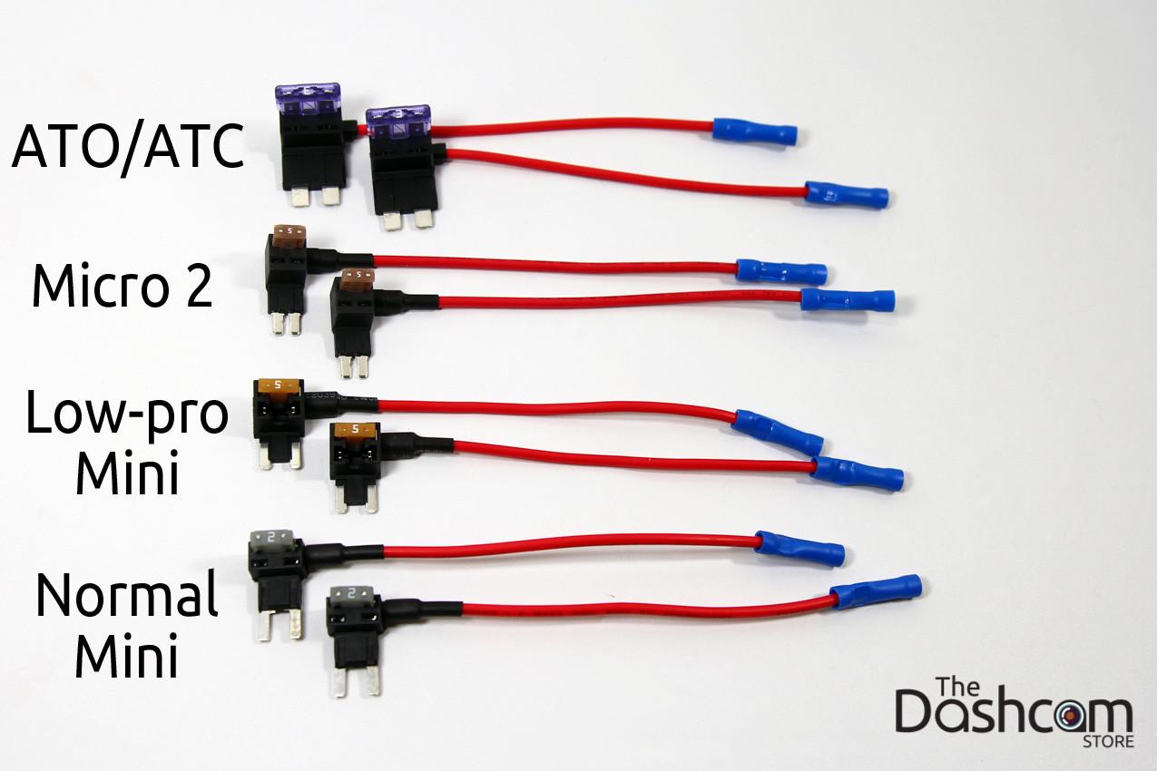 Fuse Box Taps Wiring Schematics Diagram Micro For Dash Cams Mini Low Profile Full Size Or Micro2 Pipe