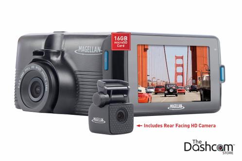 magellan mivue 480d superhd dual lens dashcam for front. Black Bedroom Furniture Sets. Home Design Ideas