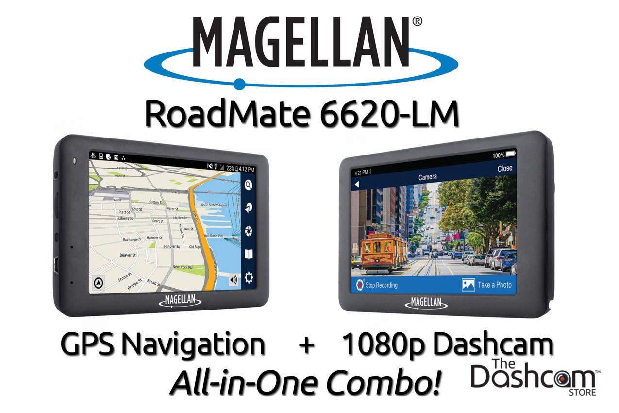 magellan roadmate 6620 lm gps navigation unit dash cam combo rh thedashcamstore com Magellan Navigation Map Magellan Explorer