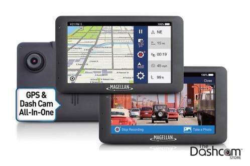 Dual Dash Cam >> Magellan RoadMate 6630T-LM GPS Navi w/ Traffic + Dash Cam ...
