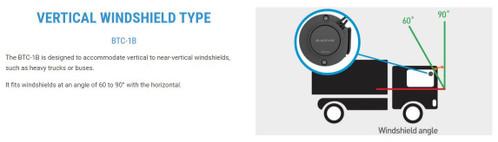 BlackVue Tamper-Proof Cover for DR550/650 Front Dash Cam | Truck Version BTC-1B