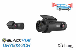 Dr750s 2ch Blackvue Dual Lens Dual 1080p Dashcam For Front And Rear Video