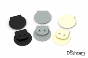 The Dashcam Store™ Custom Metal Mounting Bracket for Interior Camera   Available in Black, Grey, and Beige