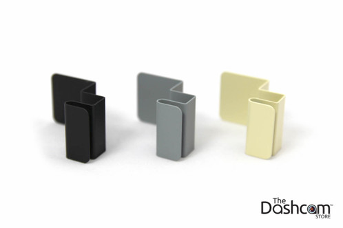 Custom Folded Metal Mounting Bracket   Available in Black, Grey, and Beige/Tan