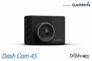 Garmin Dash Cam 45 | 1080p Single Lens Dashcam with GPS & WiFi