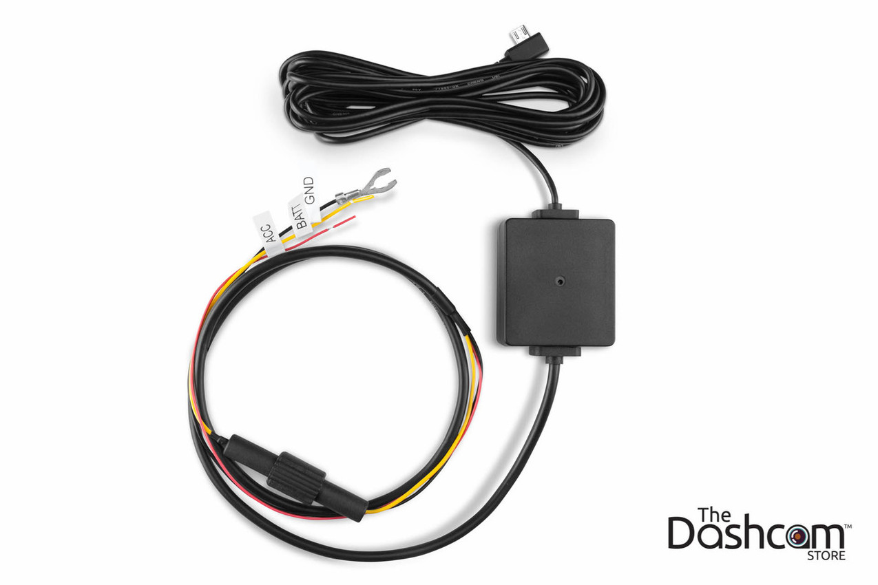 Garmin Parking Mode Kit | MicroUSB Direct-Wire Power Cable for 45, 55,