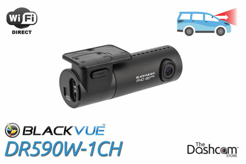 BlackVue DR590W-1CH Dash Cam | For Front-Facing Video and Audio Recording with WiFi