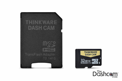 Thinkware MicroSDHC UHS-1 Memory Card | 32GB Card with Adapter | TWA-SMU