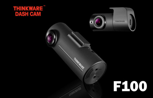 Thinkware F100 Full HD 1080P GPS-Ready Dash Camera | For Sale at The Dashcam Store