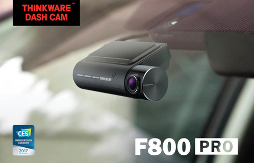 Thinkware F800 Pro Dash Cam | Premium Full HD 1080p Black Box with GPS, WiFi and More