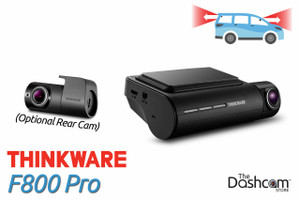 Thinkware F800 Pro Dash Cam | With Optional Rear-Facing Camera | The Dashcam Store