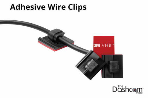 Thinkware Adhesive Wire/Cable Clips | For Thinkware Dash Cams