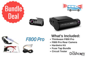 Thinkware F800 Pro Dashcam Install Bundle | Bundle Components