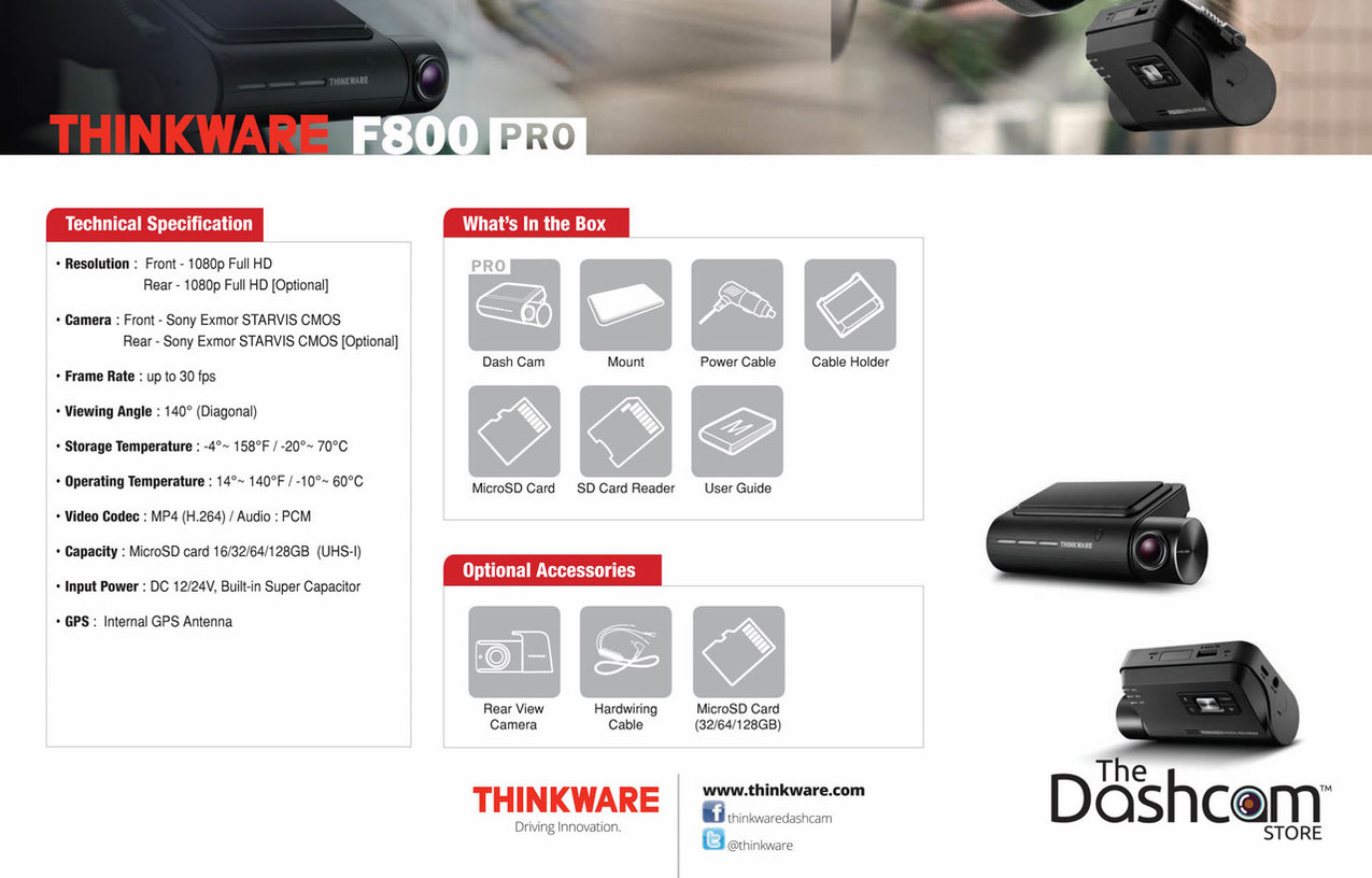 Thinkware F800 Pro Front And Rear Dashcam Diy Installation Bundle Technical Car Experts Answers Everything You Need Fuse Box On Larger More Photos