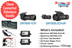 BlackVue Connected Rideshare Dashcam Bundle | DR750S 3-Channel System | Cloud-Connected Dashcam Bundle