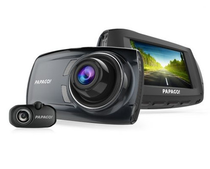PAPAGO! GoSafe S810 Full HD 1080p Compact Dual Lens Dash Cam | The Dashcam Store