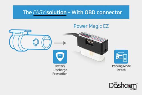 BlackVue Power Magic EZ | Easy Parking Mode OBD2 Adapter