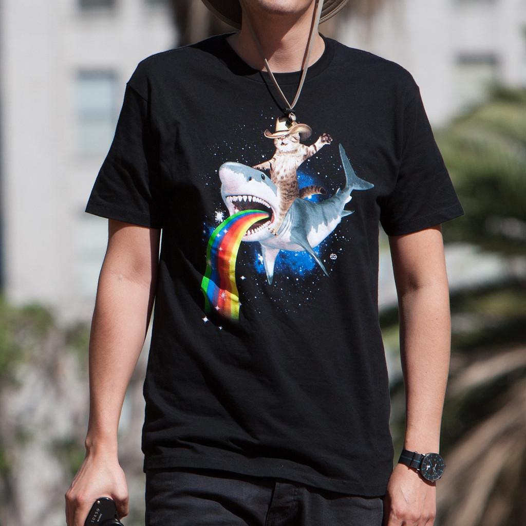 Bucking Sharkaroo Men's T-Shirt