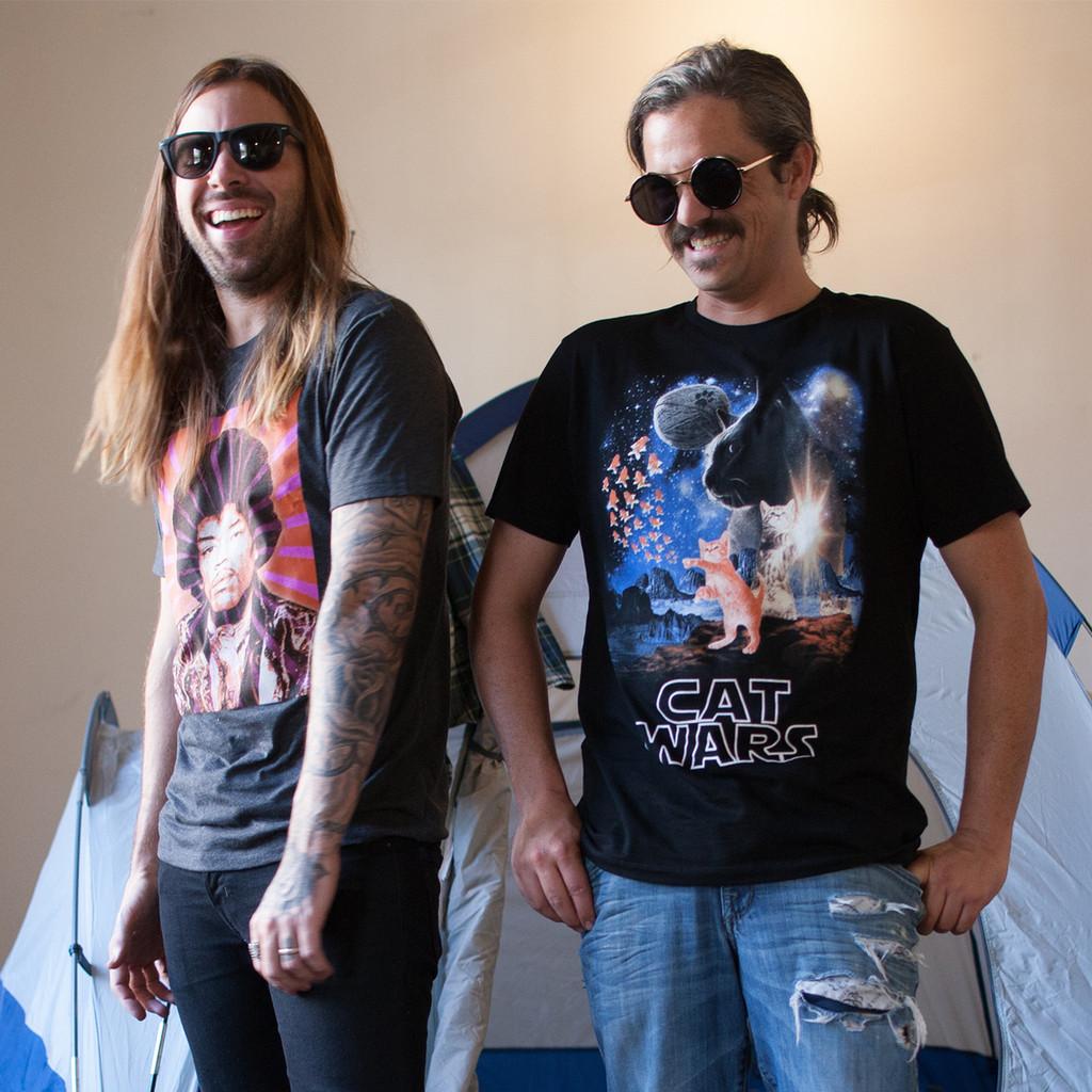 Cat Wars Men's T-Shirt