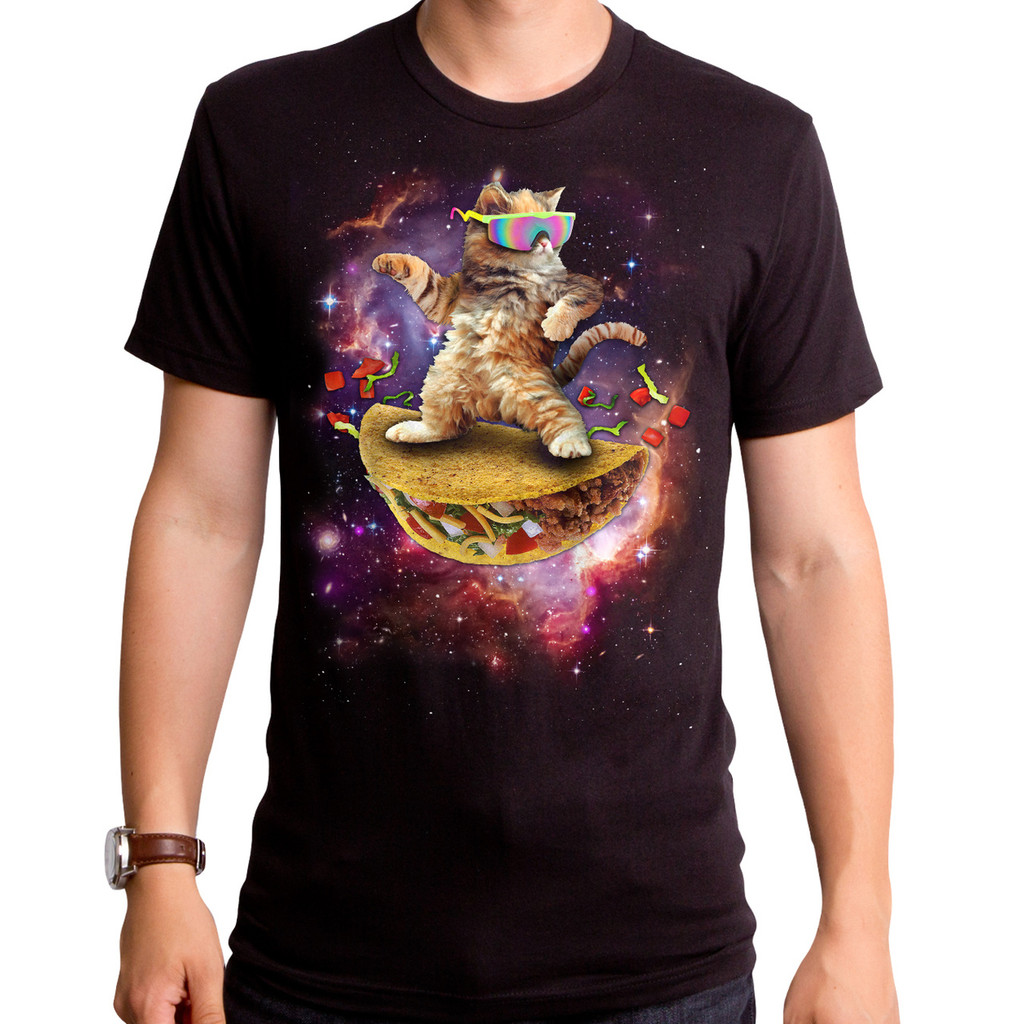 Awesome Cat Men's T-Shirt