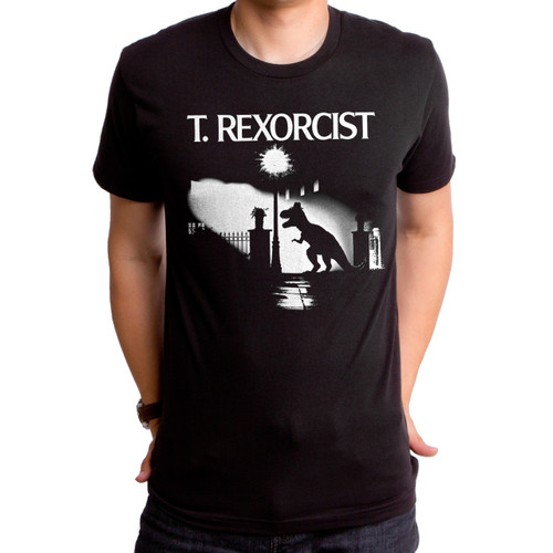 T Rexorcist Men's T-Shirt