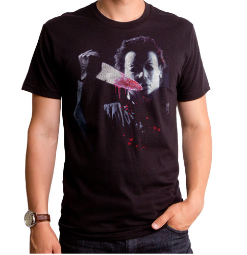 Halloween Knife Mask Men's T-Shirt