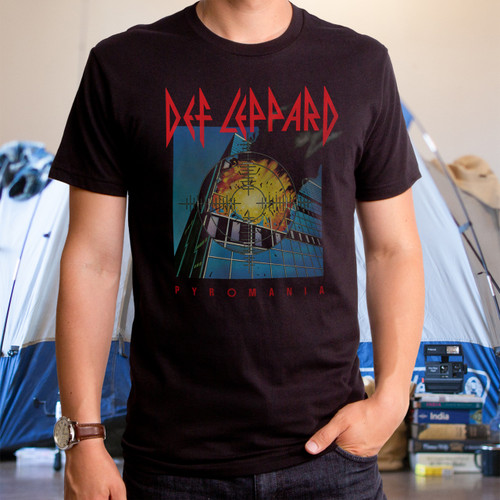 Def Leppard Pyromania Men's T-Shirt