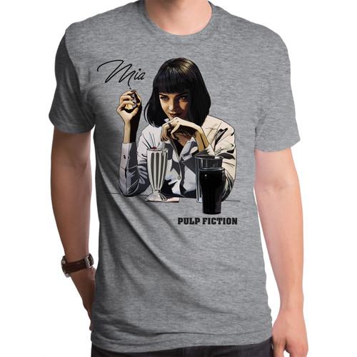 Pulp Fiction  Mia Milkshake Men's T-Shirt