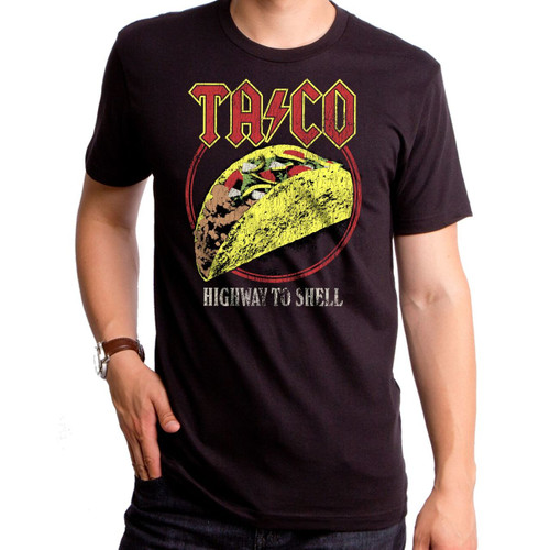 Taco Highway To Shell Men's T-Shirt