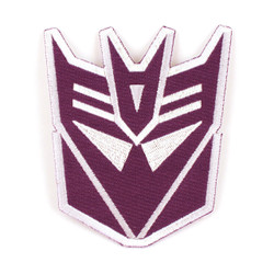 Transformers Decepticons Logo Iron-On Patch